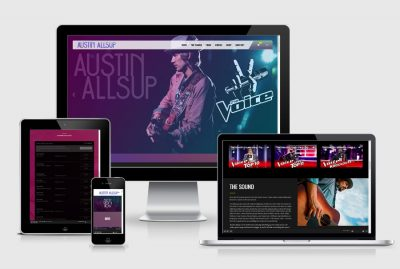 Austin Allsup Music Website