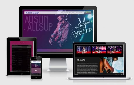 Austin Allsup Music Website