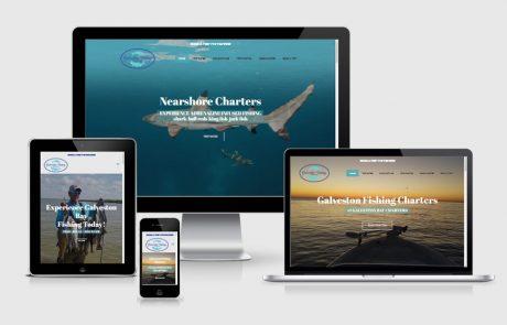 Galveston Fishing Charters Website