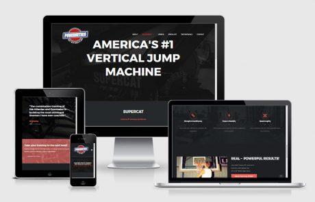 POWERNETICS Website Design
