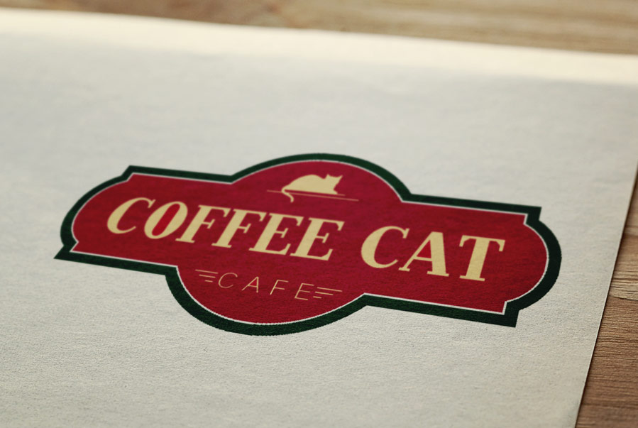 Coffee Cat Cafe Logo