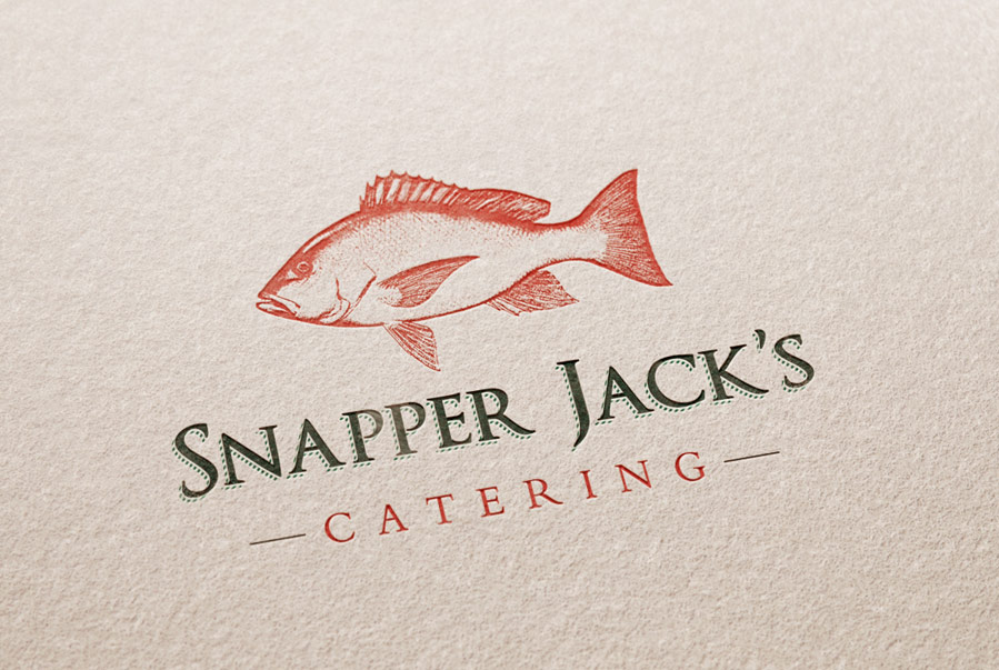 Snapper Jack's Catering Logo