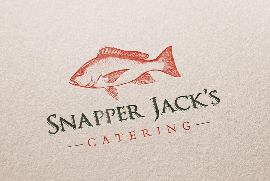 Snapper Jack's Catering Logo