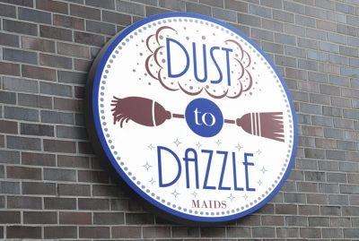 Dust To Dazzle Maids Logo