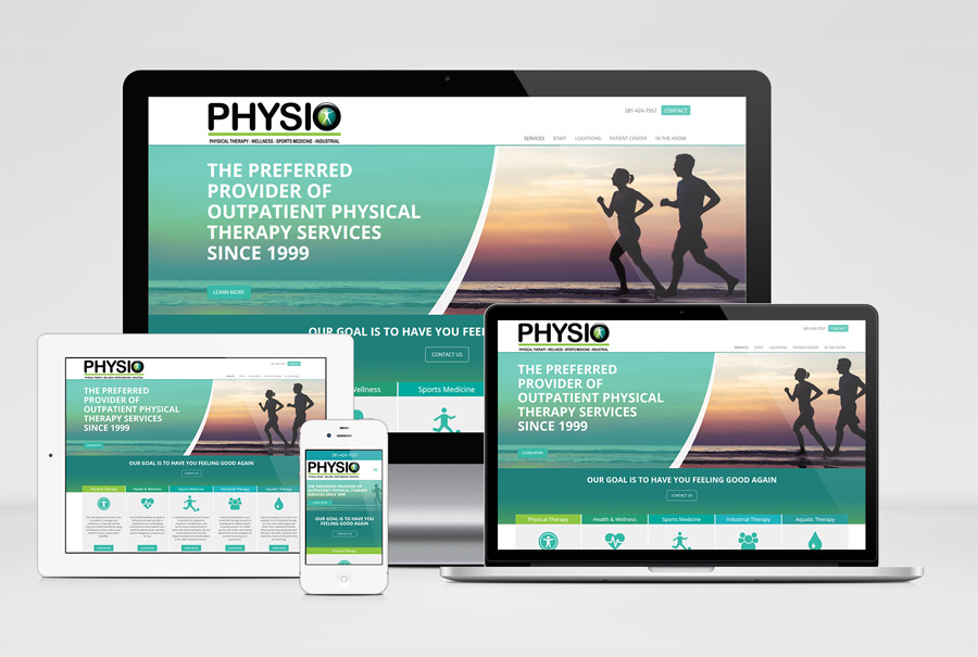 PHYSIO Webiste Design