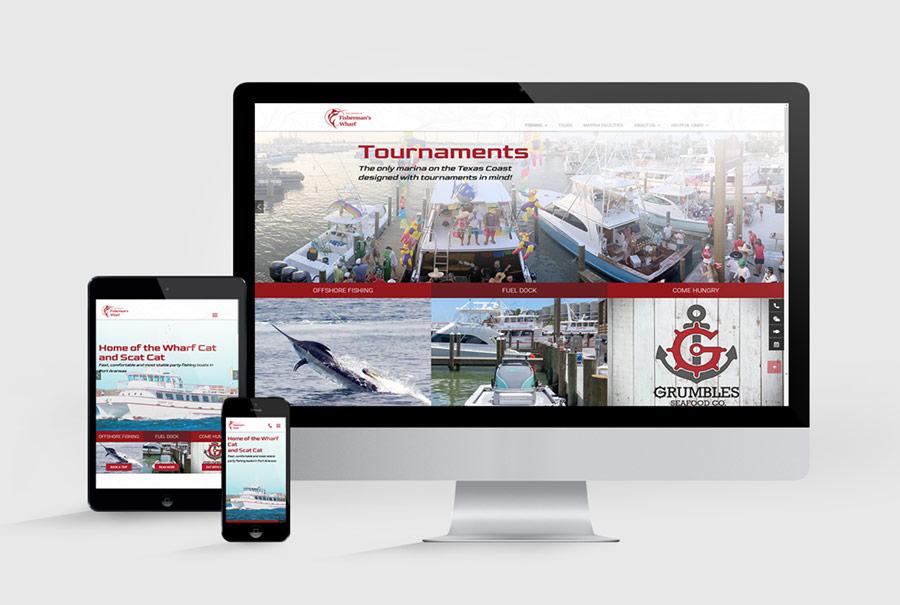 Fisherman's Wharf Port Aransas Website